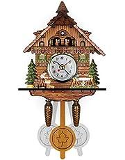 QMJYP Reloj de Pared de pájaro Lindo, Reloj Despertador de Cuco, Reloj de Cuco Reloj de Sala de Estar, Decoración del hogar, Sala de Estar, Habitación de los niños