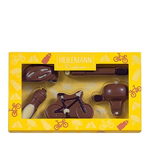 "Heilemann Geschenkpackung \""Fahrrad\"" Schokoladenfiguren | 100g"