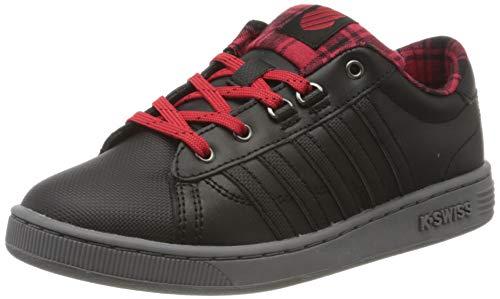 K-Swiss Hoke Plaid Sneaker, Schwarz (Black 85111-050), 39 EU