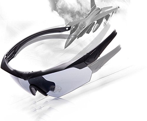 Gafas Vidrios a Prueba de Balas Que montan los vidrios del Alpinismo, Material a Prueba de explosiones de la PC