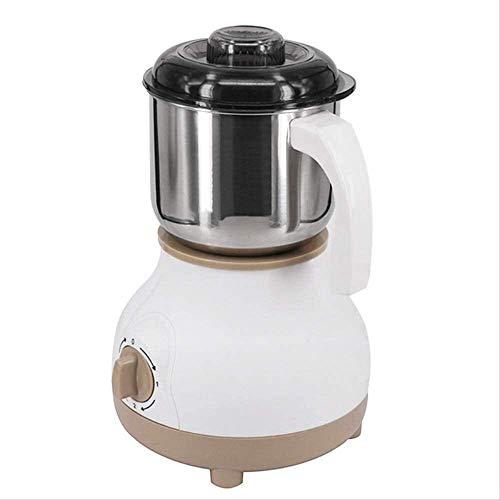 ZFSWMY Tragbare Kaffeemaschine, Drip Kaffeemaschine elektrische Edelstahl Kaffeebohne Grinder Startseite Schleifen Fräsmaschine Kaffee Zubehör