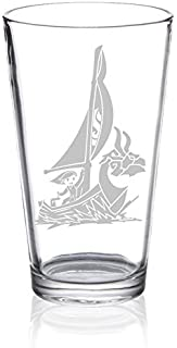 The Legend of Zelda - King of Red Lions - Etched Pint Glass