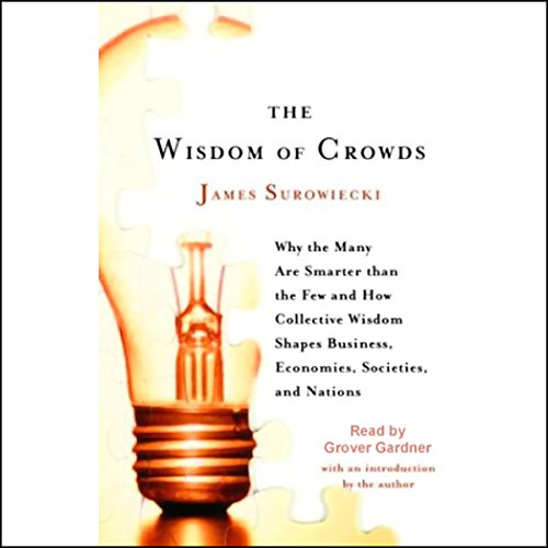 The Wisdom of Crowds audiobook cover art