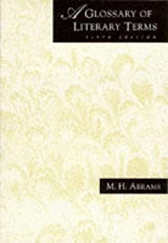 Paperback A Glossary of Literary Terms Book