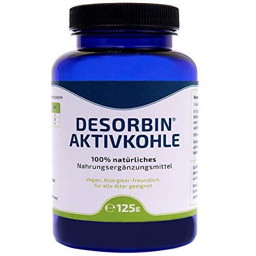 100% natürliches Aktivkohle Pulver • Magen-Darmpflege • Zahnaufhellung • Kosmetik • mit Magnesium & Vitamin B12...