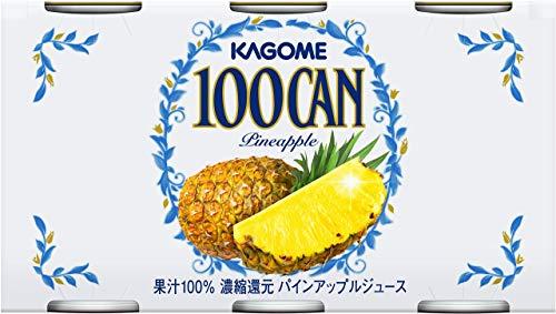 カゴメ 100CAN パインアップル 6缶パック 缶160g×6