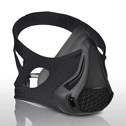 WL MaskCase 30 48 Breathing Levels Training Mask  Workout High Altitude Elevation Simulation Oxygen Air  for Gym Cardio Fitness Running Endurance Resistance and HIIT