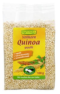Rapunzel Bio Vollkorn Quinoa, gepufft - 4er Pack (4 x 100g) - BIO