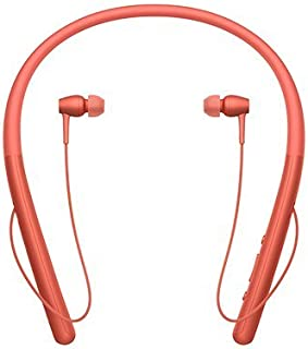 Sony WI-H700 H. Ear in 2 Wireless In-Ear Headphone, Red