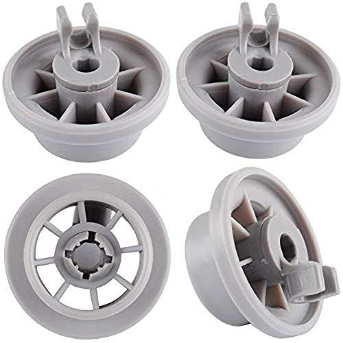 Ruedas lavavajillas 165314 - WENTS ruedas de lavavajillas para muchos comunes lavavajillas de Bosch Zanussi Miele etcétera - ruedas bandeja lavavajillas 10pcs