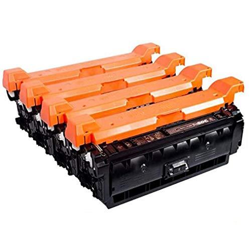 CF450A CF451A CF452A CF453A tonercartridge Compatibel met de HP Color LaserJet BEDRIJF MG530N M653X 653DH M681F M681DH M681Z MFP M681F 682Z 655A Printer, 4 kleuren,4 color combination