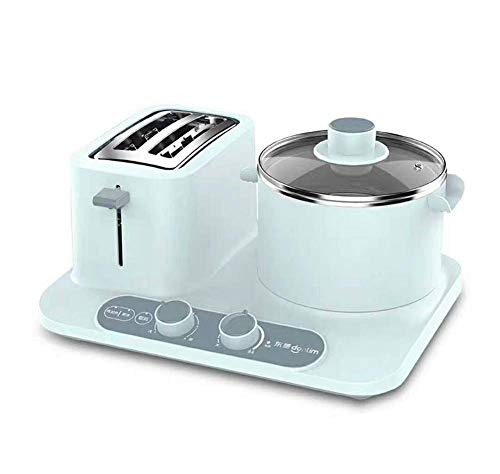 PLEASUR Multifunktions-Frühstücksmaschine 3-in-1 Toaster Backofen Toaster Home Toaster, Blau