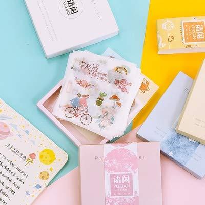 DSSJ Juego de 50 Pegatinas de Cuentas de Mano Herramientas de Material Lindo Decoración de Cuentas de Mano Patrón pequeño Anime