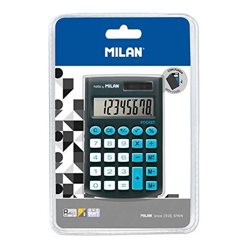 Blíster calculadora Pocket Negra 8 dígitos