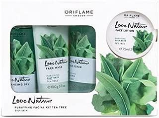 Oriflame Sweden Love Nature Facial Kit Tea Tree
