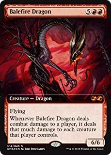 Magic: The Gathering - Balefire Dragon - Foil - Ultimate Masters Box Toppers - Mythic Rare