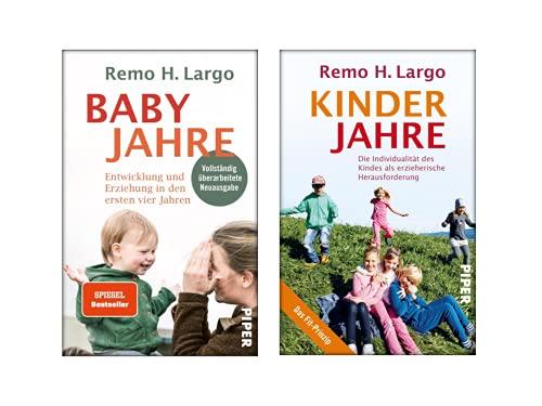 Remo H. Largo | Das Standardwerk der Erziehungsliteratur | 2er Set als Softcover | Babyjahre + Kinderjahre
