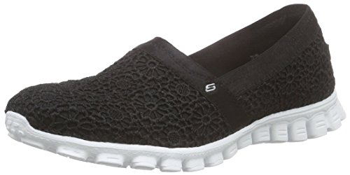 Skechers EZ Flex 2 Make Believe, Damen Slipper, Schwarz (BKW), 36 EU