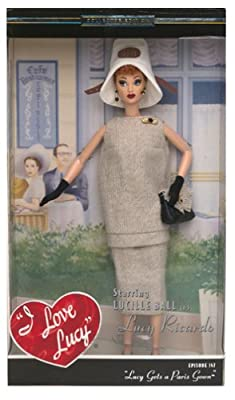 Mattel Barbie 2003 Timeless Treasures Collectible Doll - I Love Lucy - Lucy Gets a Paris Gown