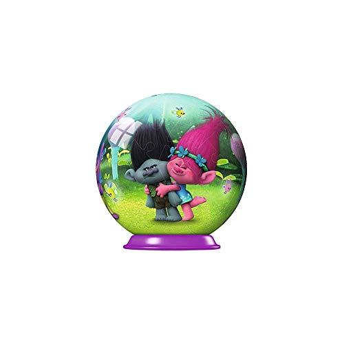 Ravensburger Disney Trolls Mini-Puzzleball, 54 Teile