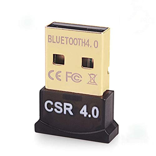 QWQ Bluetooth-Netzwerkadapter, Bluetooth 4.0 Dongle CSR 4.0 Adapter Mini-USB-Bluetooth-Adapter Transmitter Für Windows XP/Vista / 7/8/10