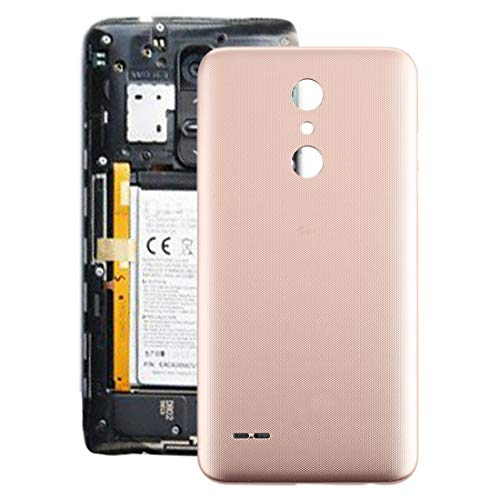 Caparazón de Vuelta batería del teléfono móvil La batería de la contraportada for LG K30 / K10 (2018) / X410 LMX410 LMX410TK (Negro) (Color : Gold)