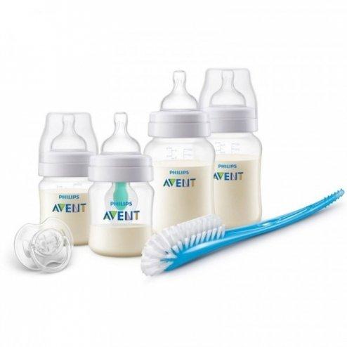 Kit biberons nouveau-né anti-colic AirFree - Philips Avent