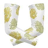1 par de mangas de protección solar UV para hombres y mujeres, guantes largos de compresión para correr, conducir, ciclismo, golf, pesca, fiesta de...