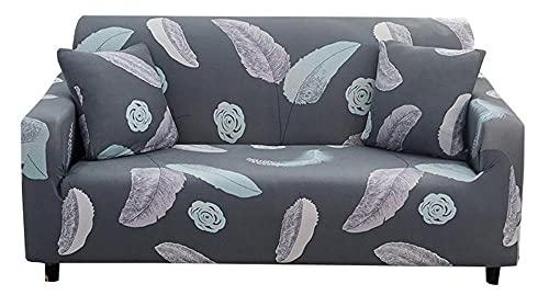 HXTSWGS Sofaschoner 2 sitzer,1-teilige weiche Sofabezug, Sofabezug mit rutschfesten Schäumen, waschbarer Möbelschutz für Kinder, Hunde, Katzen-A08_XL