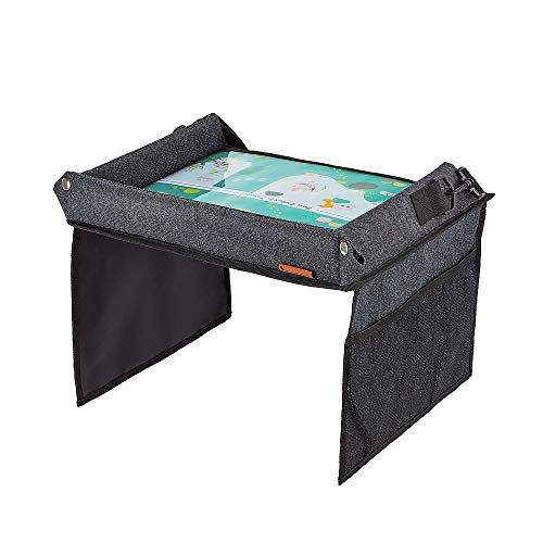 Badabulle Easy Travel speeltafel, voor autostoel, ideaal om mee te spelen en te eten onderweg