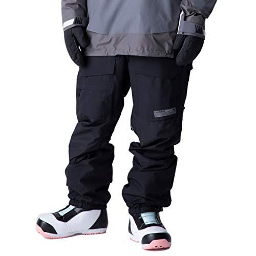 Burton Banshy True Black - Pantalón de esquí para hombre, talla XXL, color negro