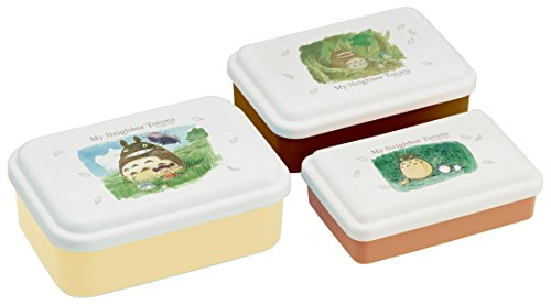 Best Prices! Totoro Studio Ghibli Pattern Food Container Boxes Set of 3