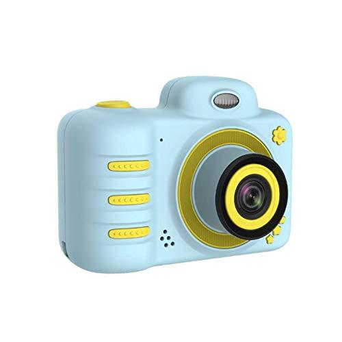 BABI kindercamera, voor- en achtercamera, selfie-camera, voor kinderen, HD-digitale camera voor kinderen, met een 16 GB geheugenkaart