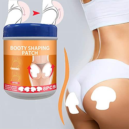 Pro Butt-lift Shaping Patch Set Booty Shaping Buttock Patch Lifting, Tightening Shaping Body Shaper Sticker Fortalece Rápidamente Los Glúteos, Parche Antiarrugas Para Mejorar Los Glúteos (8 piezas)