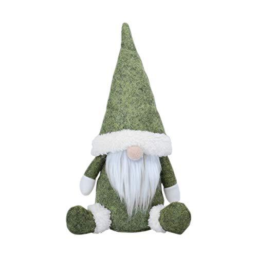 KATELUO Decoración navideña sin Rostro, decoración de muñecas, Regalo de Juguete, Figura Decorativa para Navidad, Figura de gnomo, Figura de Papá Noel, Decoración de Navidad Regalos