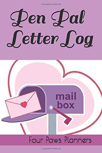 Pen Pal Letter Log