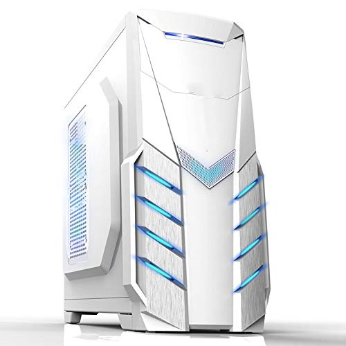 Computer Case Tower PC Gamer Mini ITX Safe Cabinet HTPC Case Desktop Gaming All-Aluminum Slim Chassis Supports GPU Knife Card