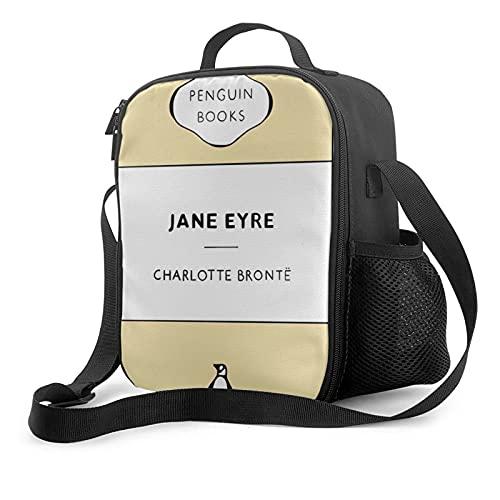 Bolsa de almuerzo aislada Jane Eyre Penguin Classics - Fiambrera con forro acolchado aislante