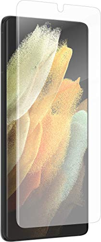 """ZAGG InvisibleShield GlassFusion+ with D3O - Hybrid Glass with D3O - Made for Samsung GS21 (6.2"""") - Case Friendly"""