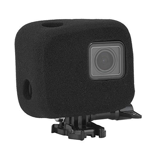 VBESTLIFE Kamera Windschutzschaum Windschutzscheibe Windslayer, Rahmenmontage Gehäuse Hülle für Gopro Hero 7 6 5 Kameratasche