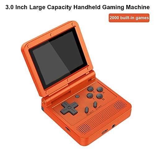 iBoosila V90-Spielekonsole 3,0-Zoll-Handheld-Spielekonsole Mit Großer Kapazität 16G Open Source-Spielekonsole Mini Portable Game Console Retro-Spielekonsole