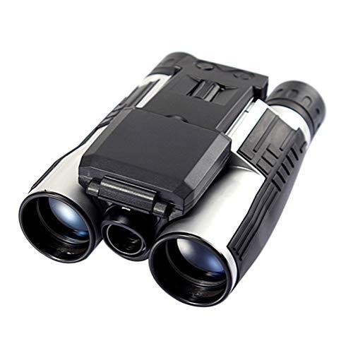 DIDIOI Jumelles Appareil Photo numérique 12x32 extérieure Haute définition télescope Multi-Fonctionnelle Jumelles d'enregistrement vidéo 2\
