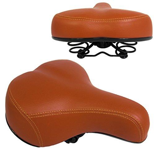 Fahrradsattel Fahrradsitz Comfort Sattel mit Federung für Herren Damen Trekking