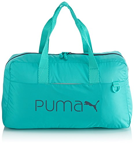 PUMA, Borsa a mano Donna Core Grip Bag, Verde (Pool Green), Taglia unica