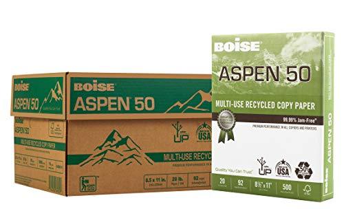 Boise Aspen 100 Tabloid (279×432 mm) Weiß - Druckerpapier (Tabloid (279x432 mm), Kopieren, Weiß, 500 Blätter)