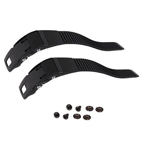MonkeyJack 2 Pieces Replacements Inline Roller Skating Shoes Energy Strap with Screws Nuts Accessory Part