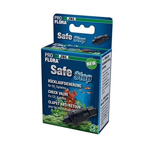 JBL ProFlora SafeStop 2 64468 Wasserrücklaufsicherung für CO2-Systeme von Aquarien