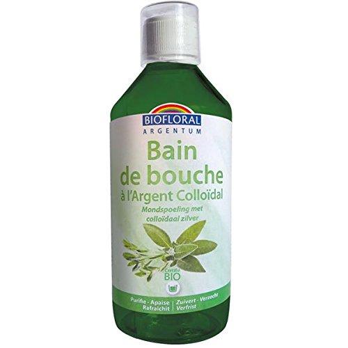 BIOFLORAL - Bain de bouche à l'Argent Colloïdal Bio - 500 ml