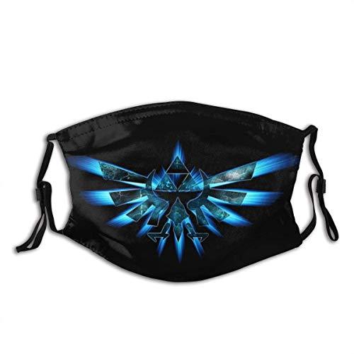 The Legend of Zelda - Passamontagna senza cuciture, protezione solare contro polvere e raggi UV, per feste e attività all'aria aperta