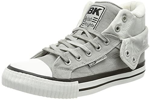 British Knights Damen ROCO Sneaker, Hellgrau, 38 EU
